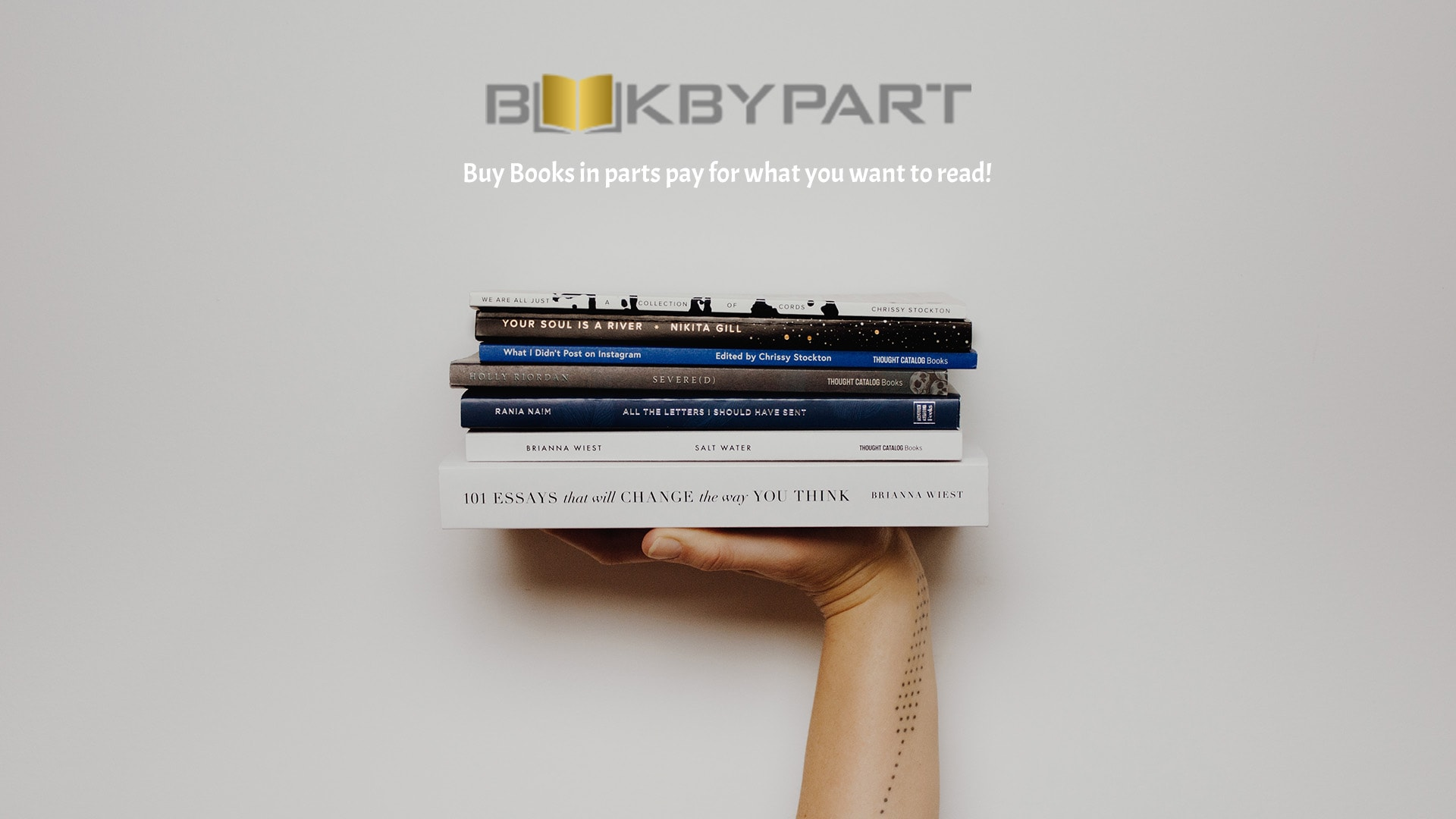 BooksByParts - Buy books in parts