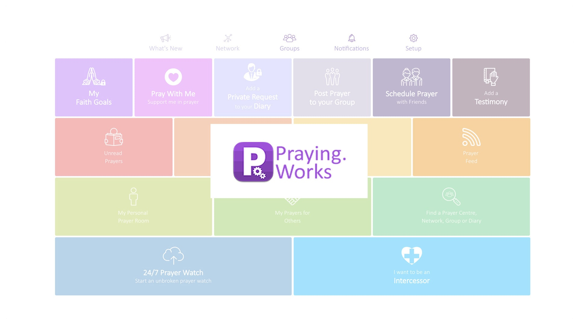Praying Social Network